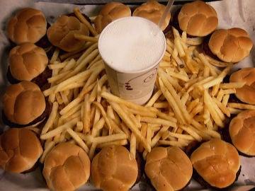 15 mini hamburguesas