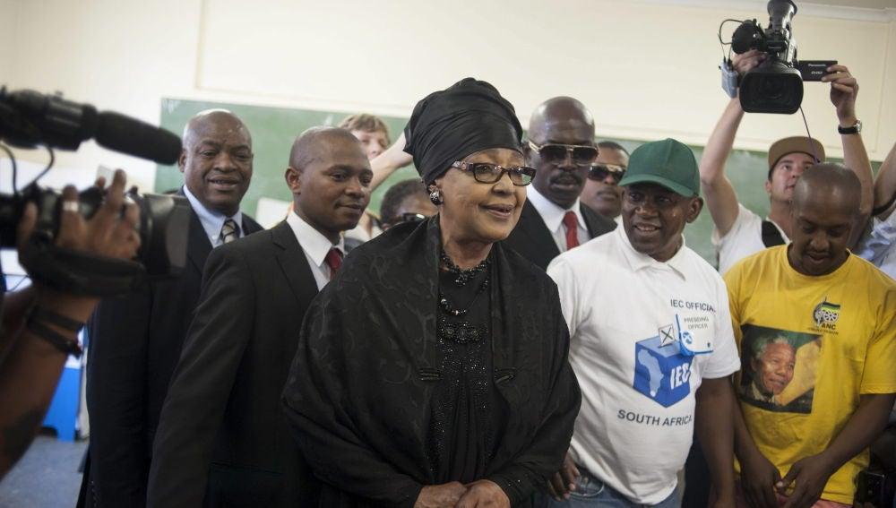 Winnie Mandela, exmujer de Nelson Mandela