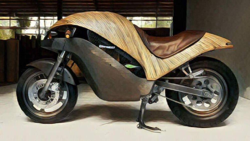 La Banatti, una moto 100% respetuosa con el medio ambiente.