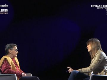 María Izquierdo y Sandra Sabatés