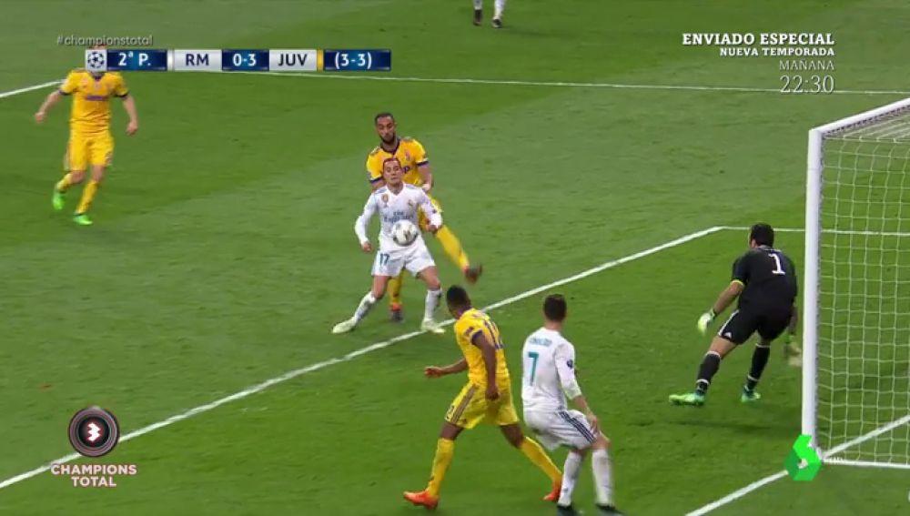Polémica mundial: ¿hay penalti de Benatia a Lucas Vázquez en el minuto 93?