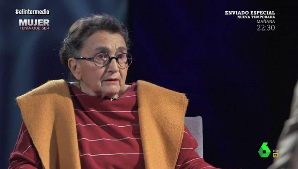 María Izquierdo en El Intermedio