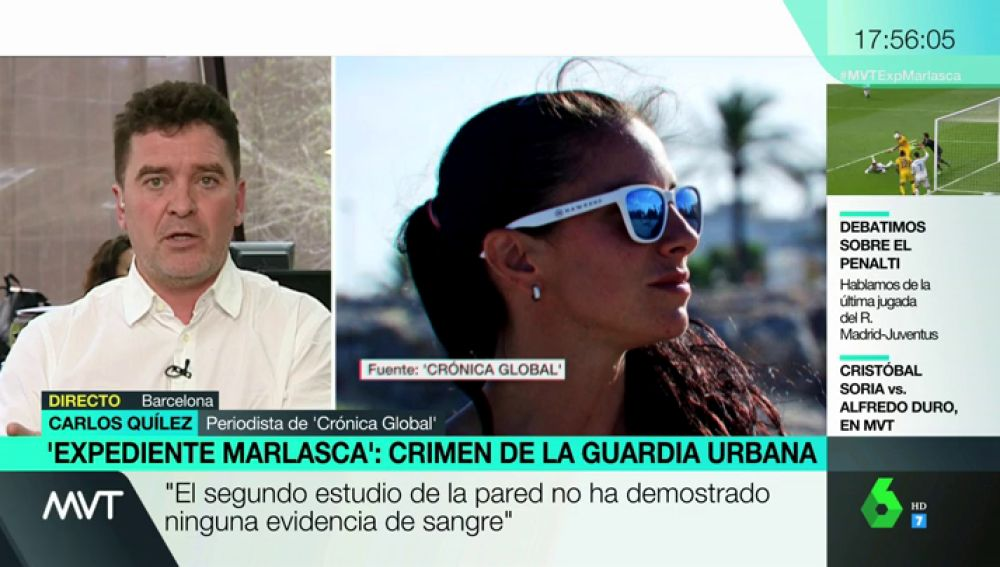 """Carlos Quílez, sobre el registro de la casa de Rosa Peral por el asesinato de su pareja: """"Ha aparecido sangre"""""""