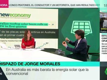 Jorge Morales explica con una manzana porqué Australia y España deberían tener la mima inversión en energía solar