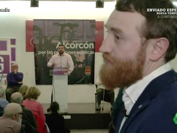 """La aventura completa de Burque en el """"acto violento"""" de Podemos: """"Es una revuelta, me siento desprotegido"""""""