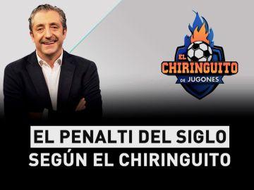 El penalti, según el Chiringuito