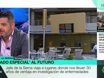 """Jalis de la Serna: """"Algunas de las mentes más brillantes del mundo han estudiado en universidades públicas de España"""""""
