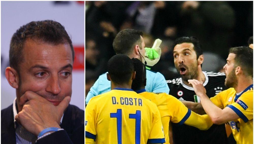 Del Piero habla sobre la expulsión de Buffon