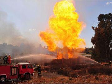 Imagen de archivo de una explosión