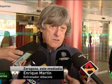 La plantilla del Albacete visita a Pelayo Novo, que sigue recuperándose de su caída