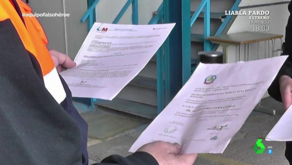 Documentos de protección civil