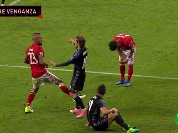 """Arturo Vidal, contento con el emparejamiento ante el Madrid: """"¡Ahora sí, carajo!"""""""