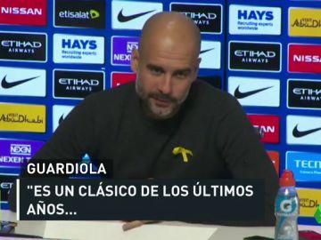 """Guardiola, sobre el Real Madrid - Bayern: """"Ojalá el Bayern tenga la suerte que merece"""""""