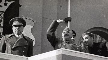Miguel Mateu y Francisco Franco
