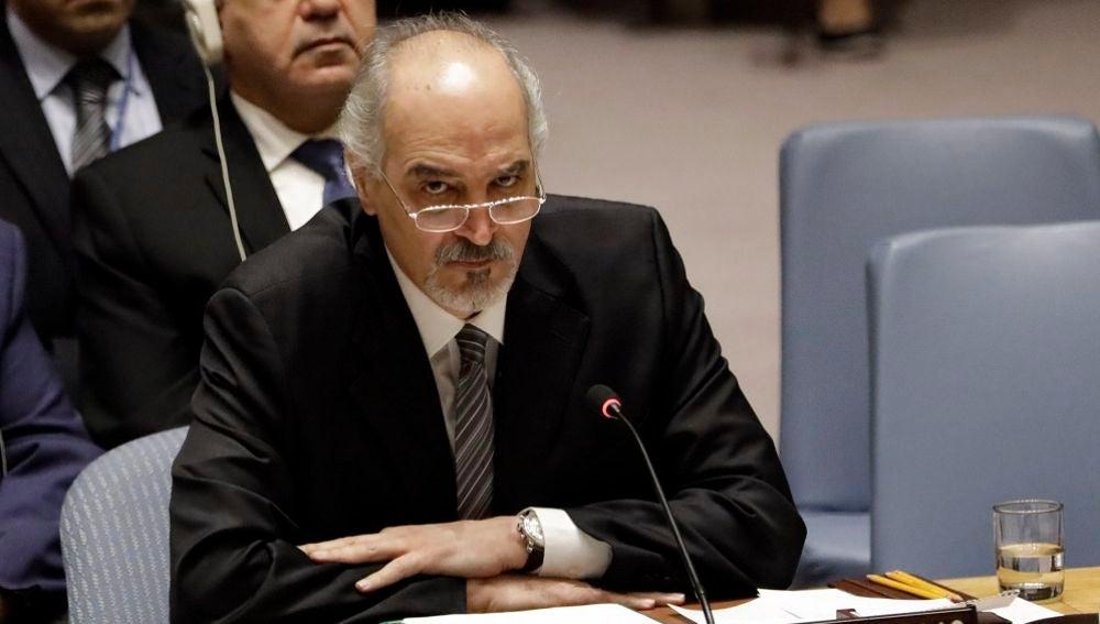 El embajador sirio ante la ONU, Bashar Jaafari