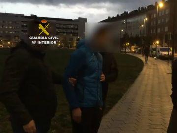 Jóvenes detenidos por la agresión en Alsasua