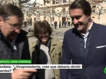 """Santamaría se desmarca del tema Cifuentes: """"Soy la vicepresidenta, no me corresponde adoptar decisiones de partido"""""""