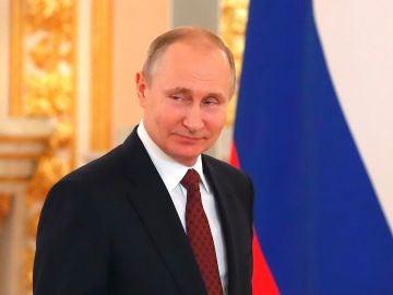 El presidente ruso, Vladímir Putin esta semana en el Kremlin