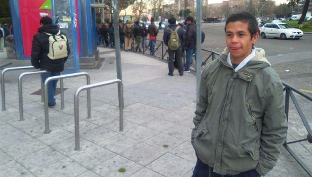 Eduardo, migrante argentino