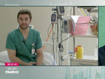 Un enfermero del equipo médico que atendió al artista Antonio Carmona