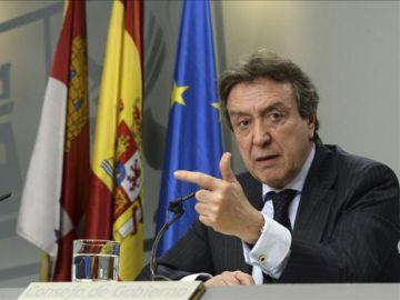 el vicepresidente de la Junta, José Antonio de Santiago-Juárez (PP)