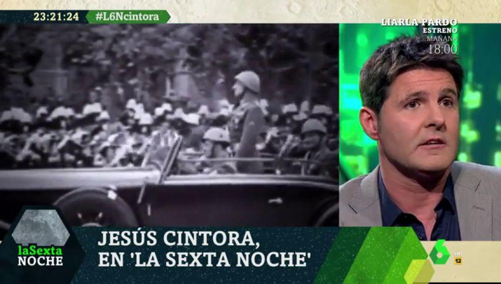 El periodista Jesús Cintora, en laSexta Noche