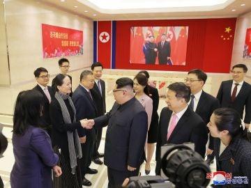 Kim Jong-un recibe a delegación china