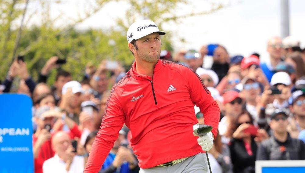 Jon Rahm, en el Centro Nacional de Golf de Madrid