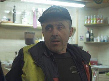 Diego trabaja en la Cañada Real