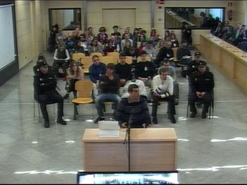 Los acusados de Alsasua que están en prisión niegan odio a la Guardia Civil y aseguran que no participaron en la pelea