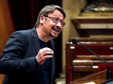 El líder de Podem, Xavier Domènech