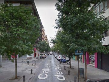 Calle Pedro Antonio de Alarcón de Granada