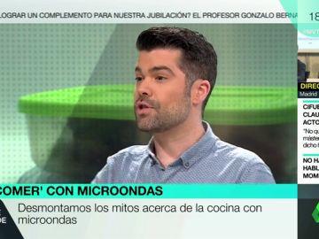 El nutricionista Luis Alberto Zamora