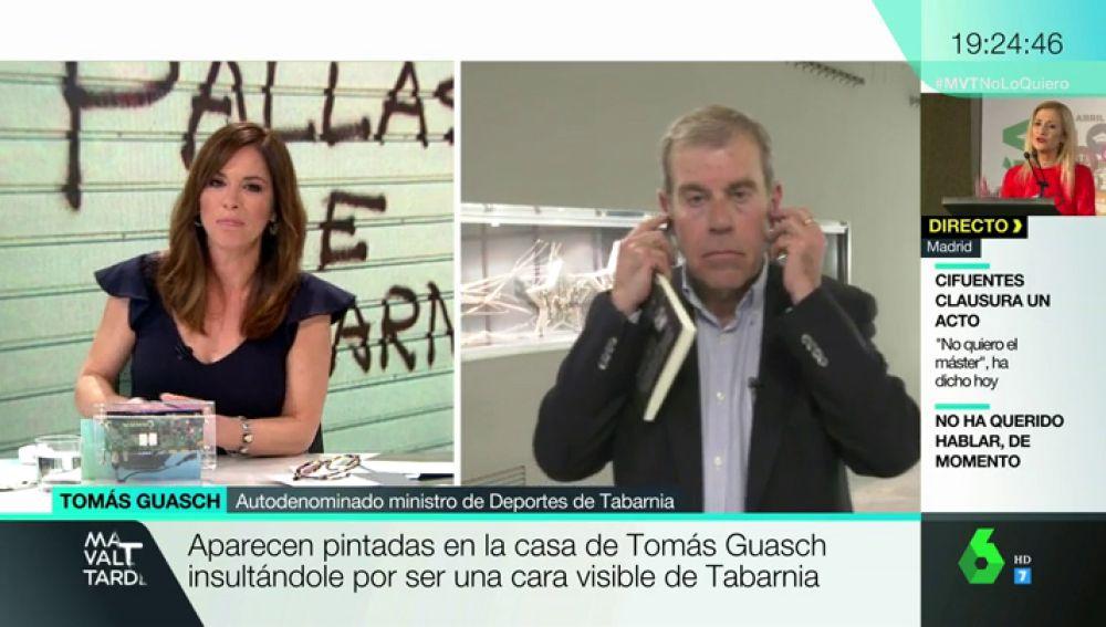 Tomás Guasch, periodista y autoproclamado ministro de Deportes de Tabarnia