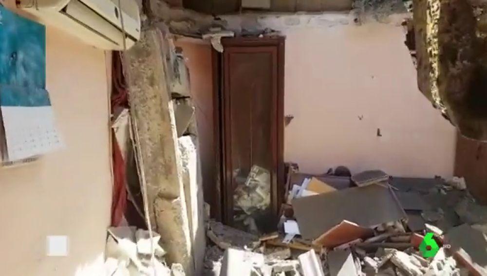 Derrumbe en una casa en Dos Hermanas, Sevilla