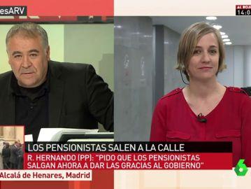 Tania Sánchez, diputada de Unidos Podemos y candidata en la lista de Iñigo Errejón