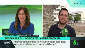 Vicente Ramírez, un empresario de impresión 3D cuya marca elabora casas