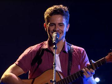 Oskar Proy canta el himno de Asturias en 'The Voice Australia'