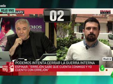 Antonio Garcia Ferreras y Ramón Espinar