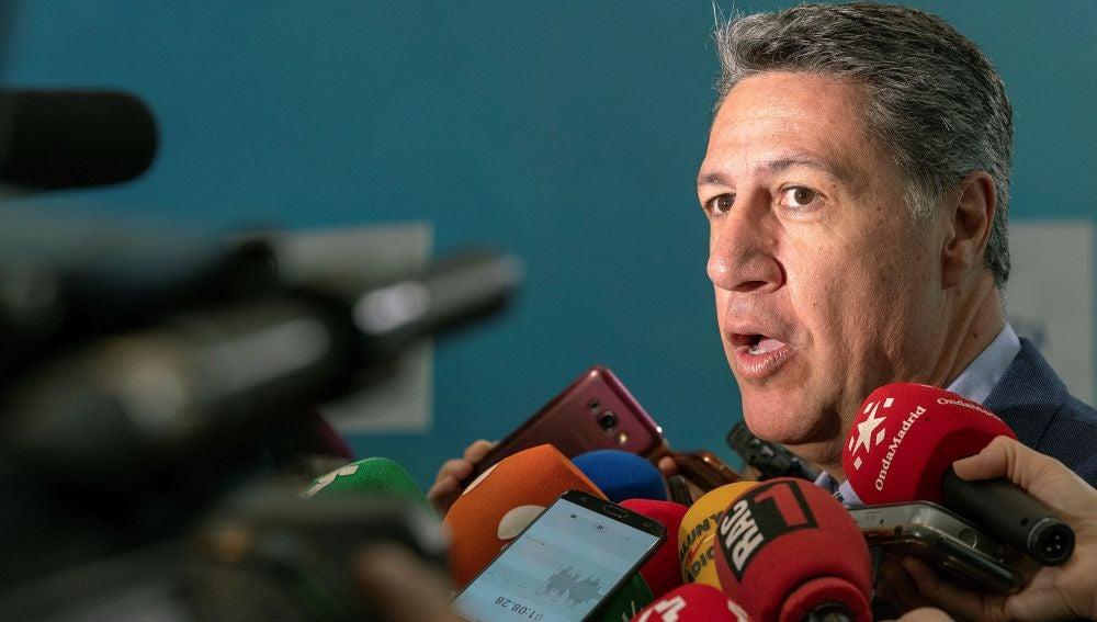 El presidente del PP catalán, Xavier García Albiol.