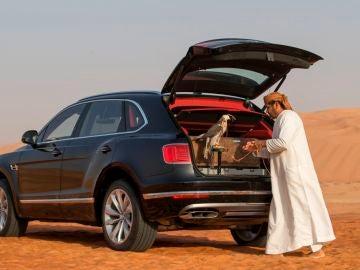 Bentley Bentayga Falconry: un coche de lujo pensado para los amantes de la cetrería