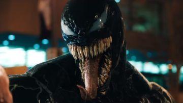 La imagen de Venom en la nueva película