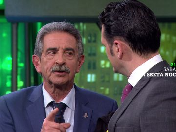 Miguel Ángel Revilla, con Iñaki López