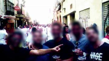 Imagen de archivo de los miembros de 'La Manada'