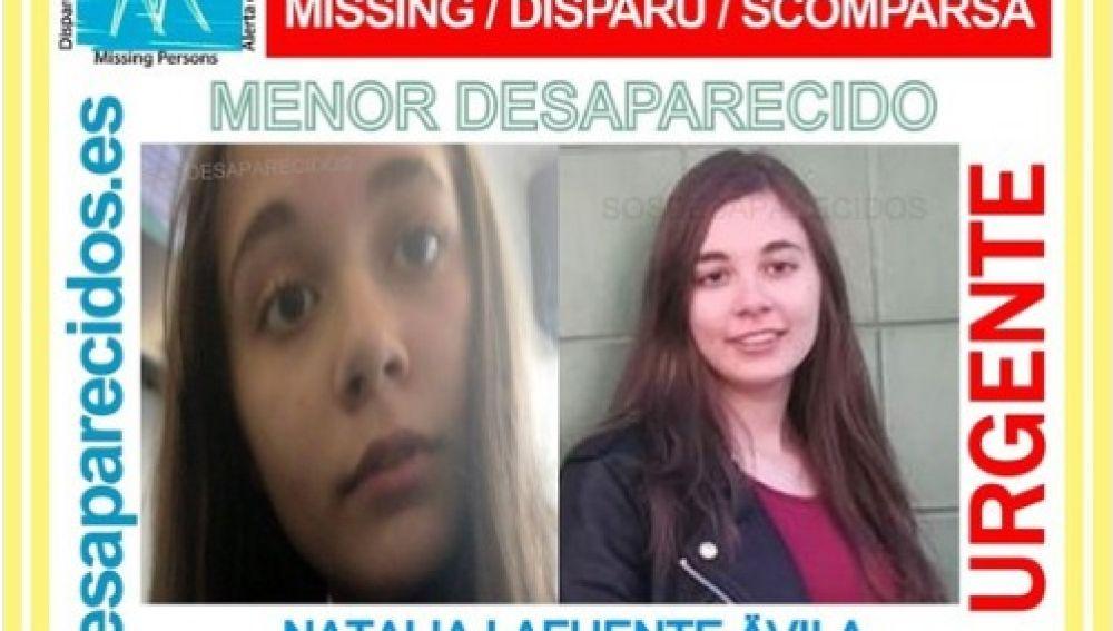 Joven desaparecida en Salamanca