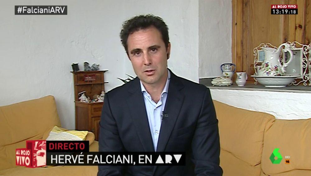 El exempleado de banca Hervé Falciani