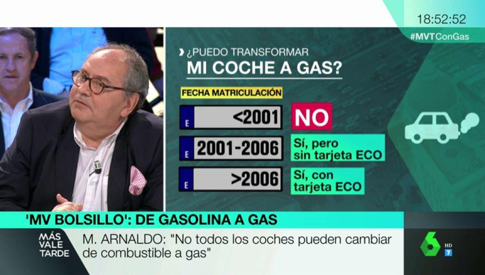 Mario Arnaldo, presidente de Automovilistas Europeos Asociados