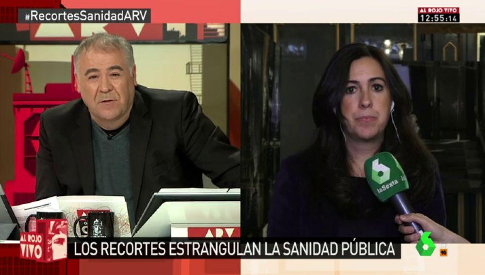 Marta Mendiola, de Amnistía Internacional