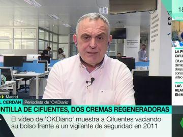 El periodista de OkDiario Manuel Cerdán
