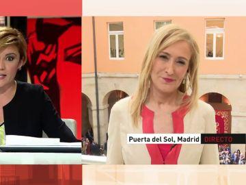 Cristina Pardo preguntó a Cristina Cifuentes en 2016 sobre su supuesta cleptomanía